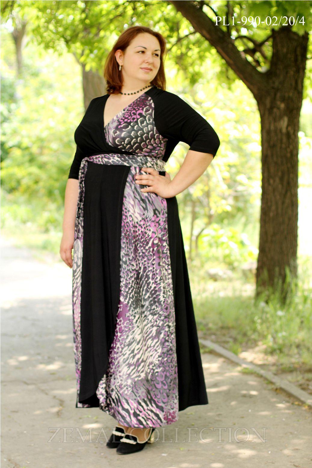 Платье больших размеров купить недорого