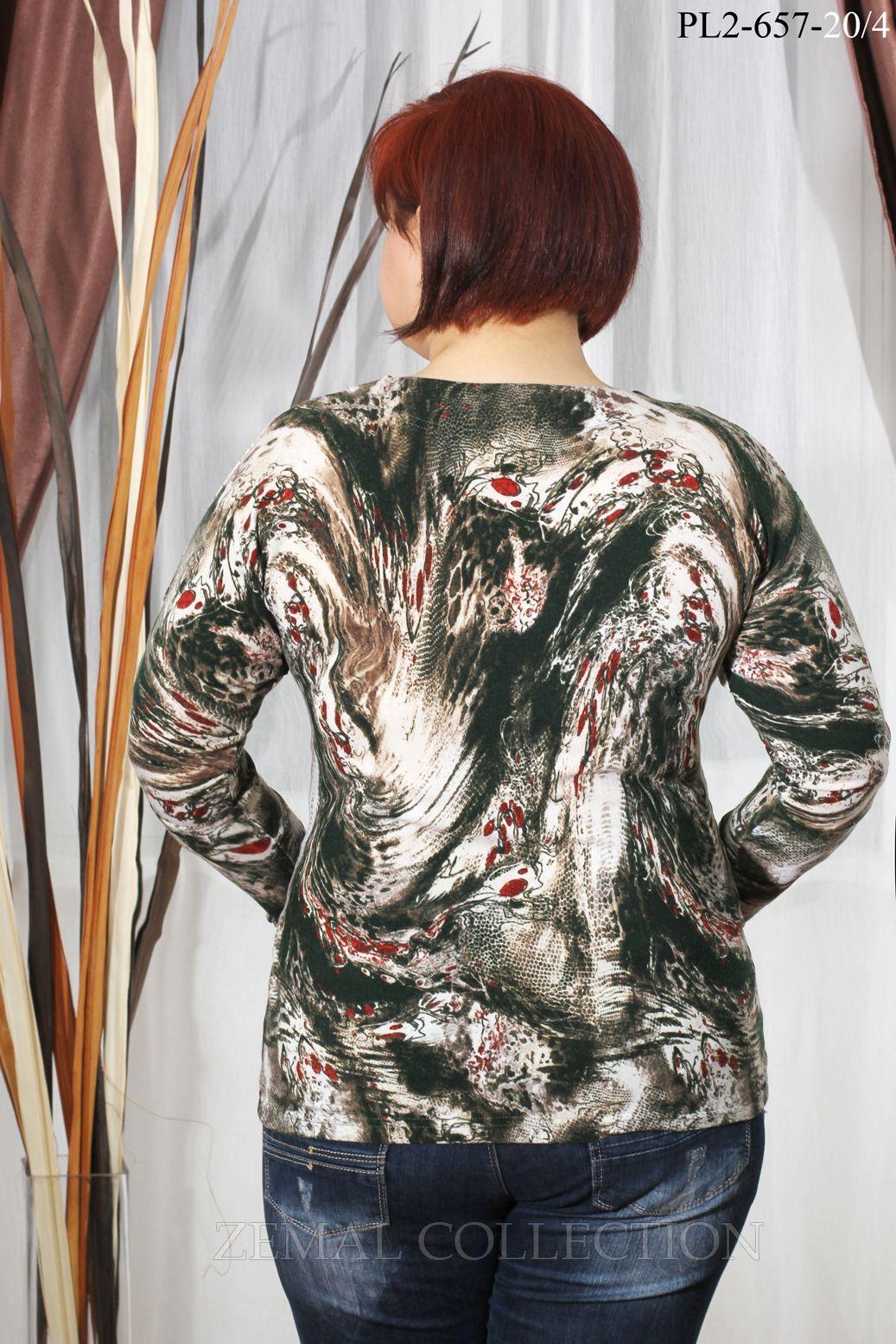 Блузки большие размеры оптом от швейных производителей