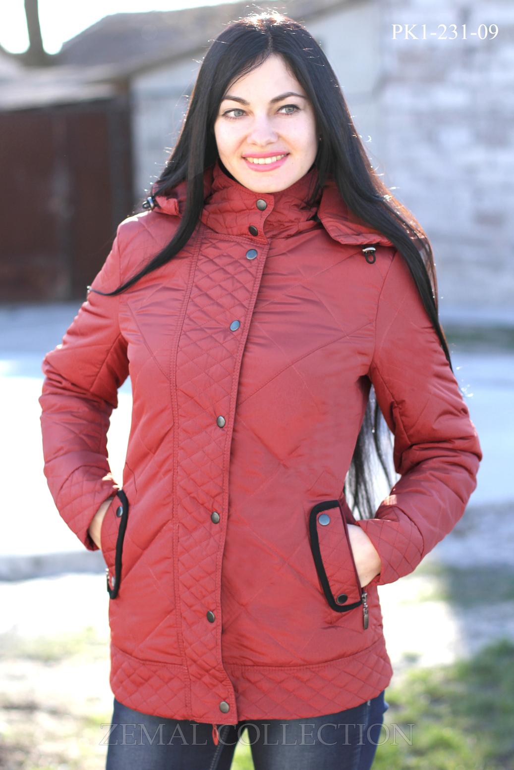 Купить женские куртки оптом от производителя - Zemal
