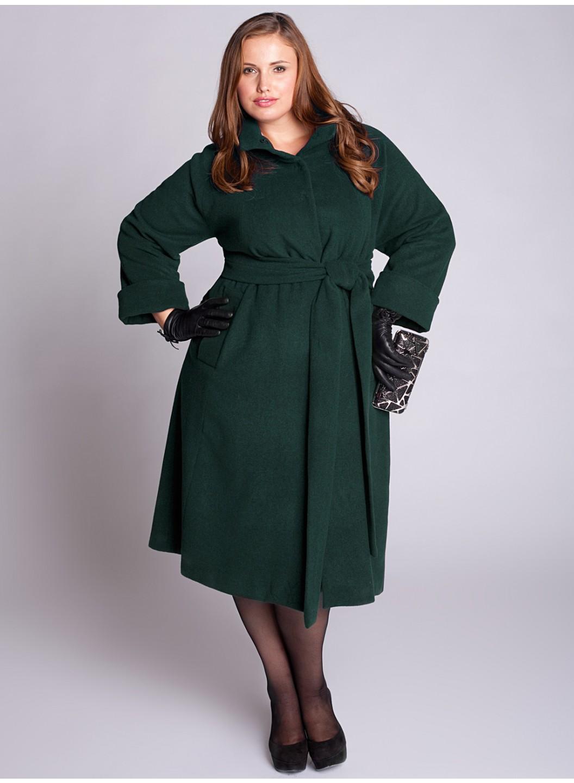 Купить женское пальто большого 52 размера