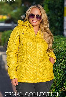 Жіночі куртки великих розмірів. Купити зимові жіночі куртки великих ... 101006452e1c0