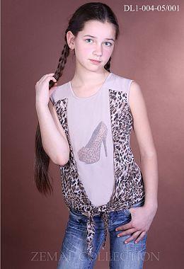 17ae1de6662d74 Купити блузки для дівчаток оптом від виробника Земал