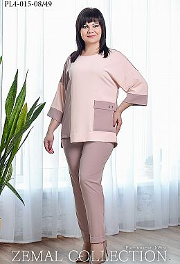 b8c4531b6f4377 Купити жіночі костюми великих розмірів оптом від виробника