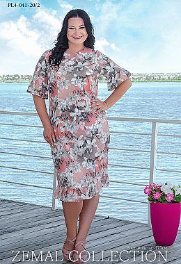 b1f62d4f6e2656 Купити сукні великих розмірів оптом від виробника «Земал»
