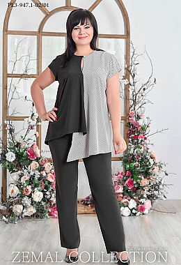 6ce5c220d119 Купить женские костюмы больших размеров в Украине | Zemal
