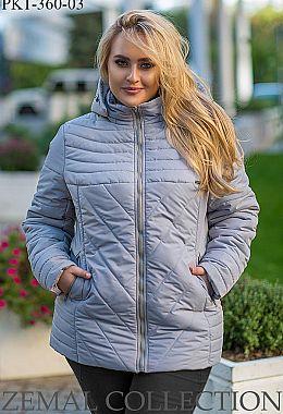 Жіночі куртки великих розмірів. Купити зимові жіночі куртки великих ... 954ff7f4dc06c