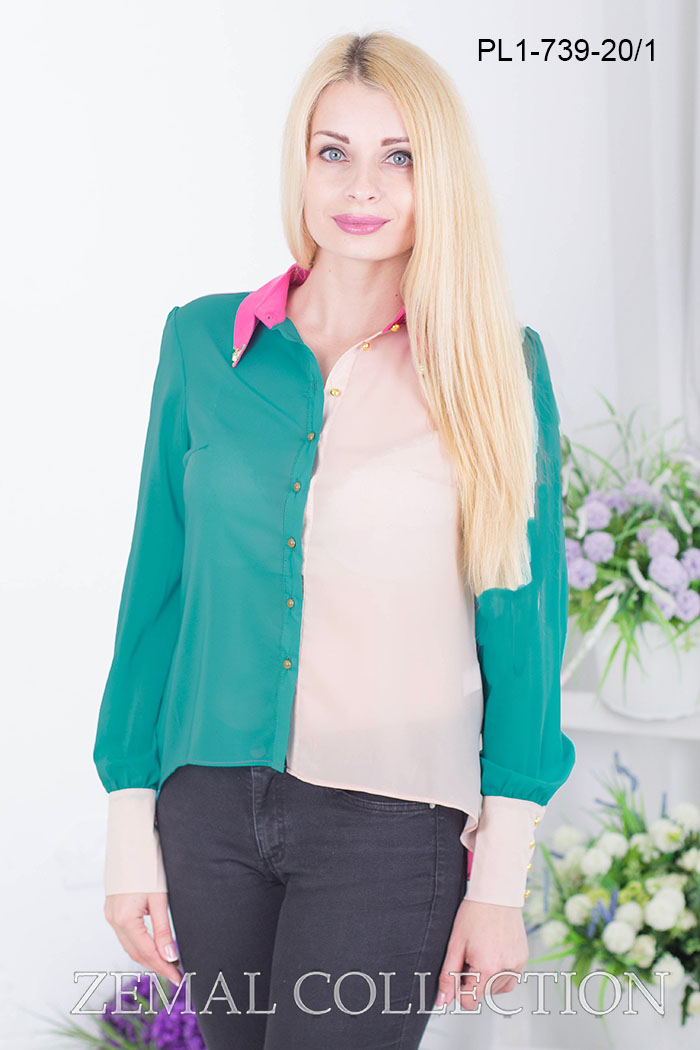Блуза PL1-739 купить на сайте производителя