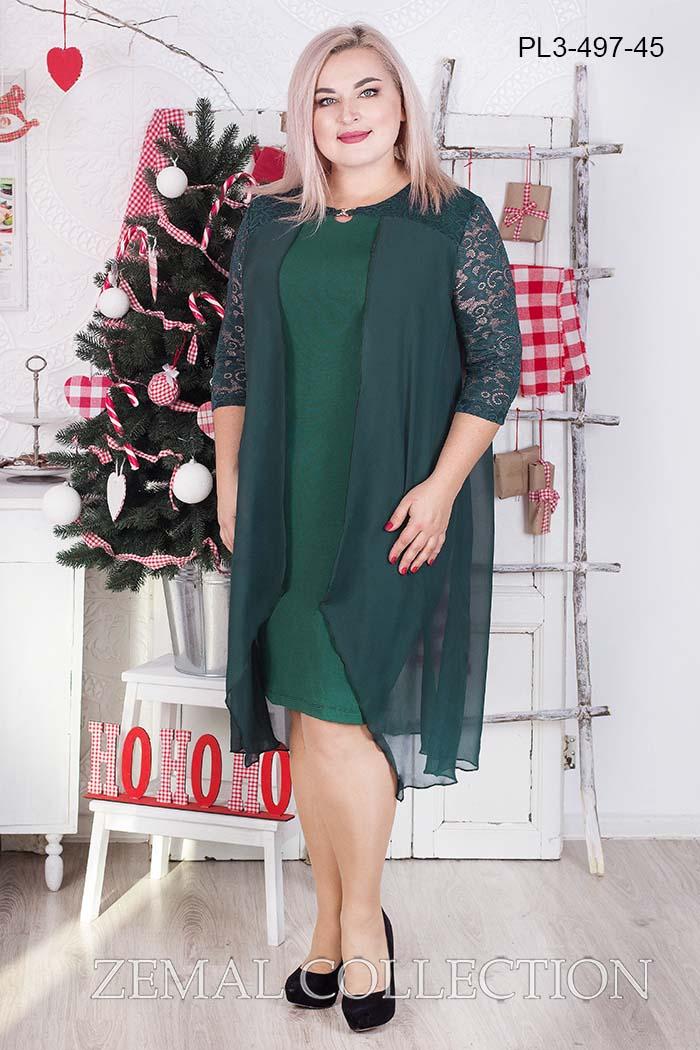 78dc4b86de27 Купить платье PL3-497 большого размера недорого в Украине