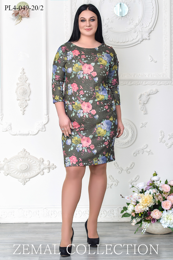 2b81f9a3fea Купить платье PL4-049 большого размера недорого в Украине
